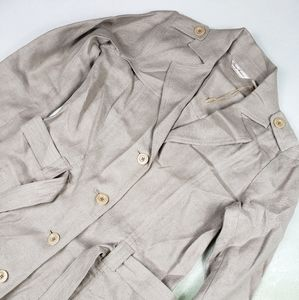 TOMMY BAHAMA | TRENCH COAT JACKET LINEN